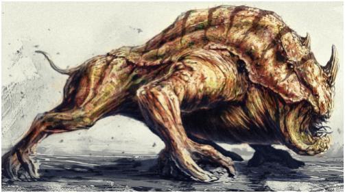 Les Créatures Terrestres. 558397Gronlock