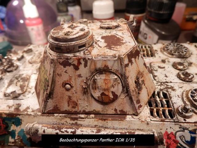 réhabilitation d un Béobachtungspanzer Panther ICM 1/35 559550P4240393