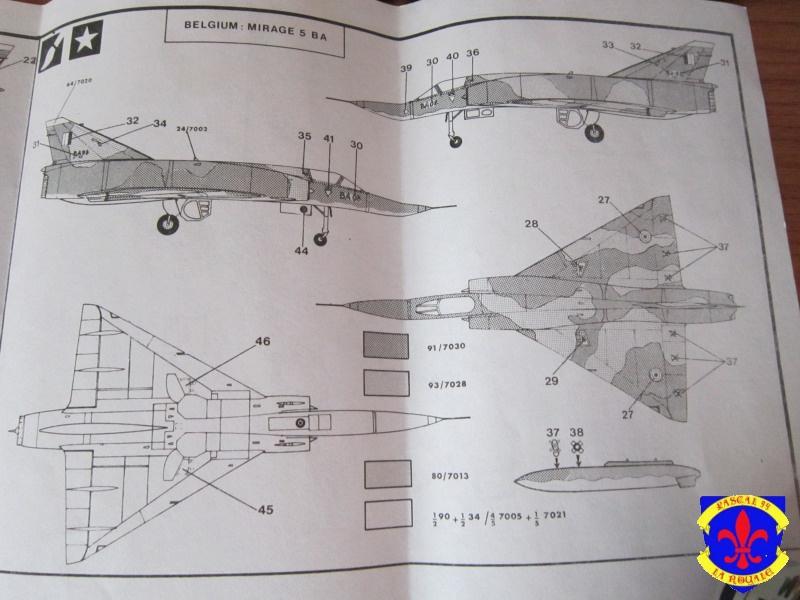 Mirage III E/R/5/BA de Heller au 1/72 559934IMG36241