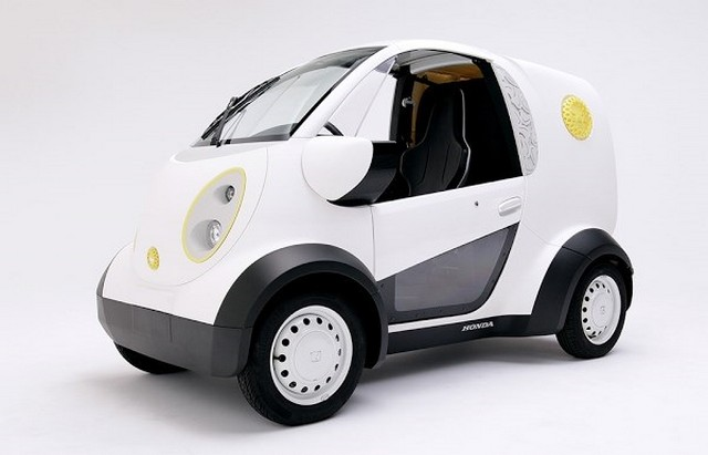 Honda dévoile un véhicule imprimé en 3D 56009082234HondaKabukuMicroCommuters2016
