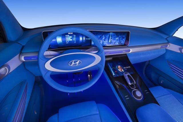 Hyundai a dévoilé son concept Fuel Cell nouvelle génération au salon de l'automobile de Genève 560423FEFuelCellConceptInterior5