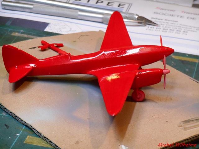 DE HAVILLAND D H88 kit Airfix 1959 560757DSCN9406Copier