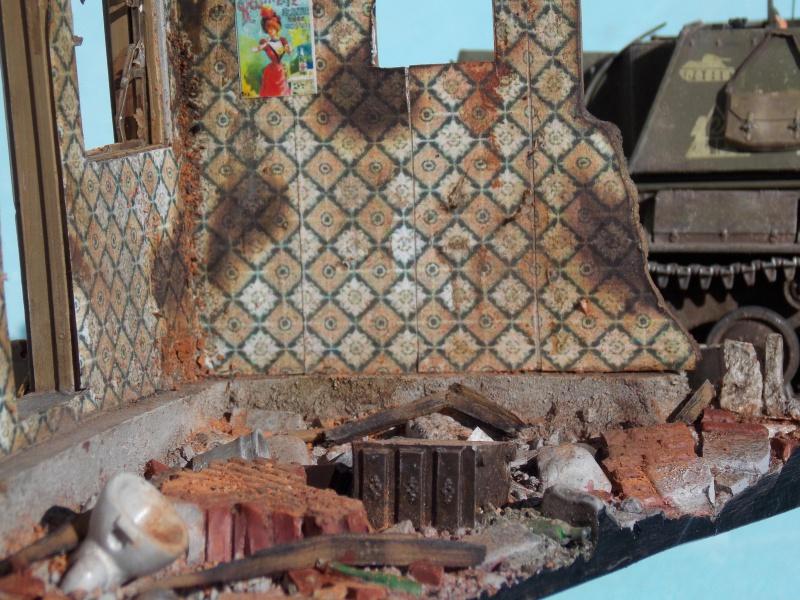 SU 76 M Tamiya et ruine Verlinden 1/35 - Page 8 562338DSCN4517