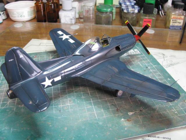 Ryan XF2R-1 Dark Shark Czech Model 1/48.....Terminé! - Page 4 564615IMG1332