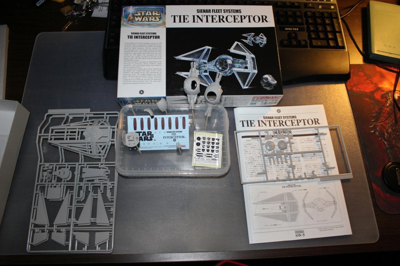 Star Wars [Tie Interceptor] FineMolds 1:72 565495DPP0001
