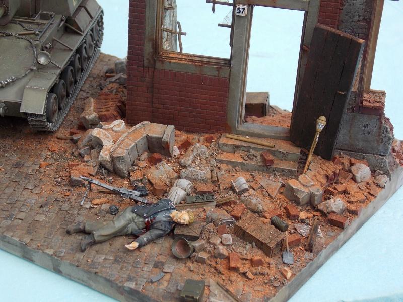SU 76 M Tamiya et ruine Verlinden 1/35 - Page 7 570104DSCN4451
