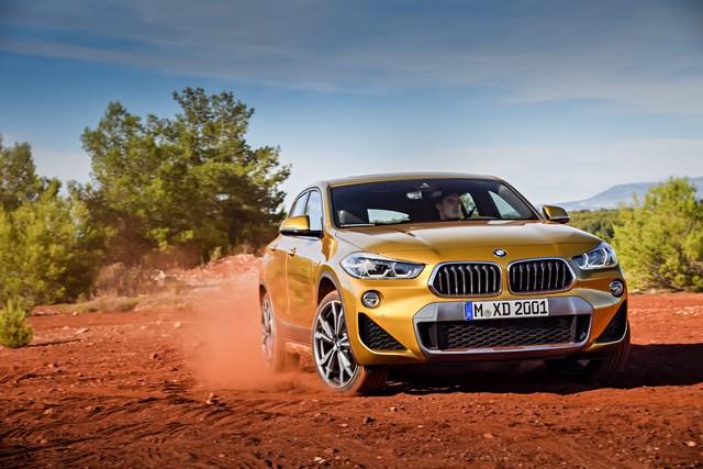 La nouvelle BMW X2 Silhouette élégante, dynamique exceptionnelle 570159P90278972highResthebrandnewbmwx2