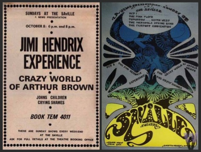 Londres (Saville Theatre) : 8 octobre 1967 [Second concert] 570796093038