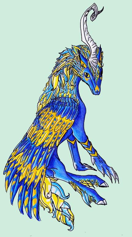 Dragons, chimères et créatures arc-en-ciel 573469espritdelaube