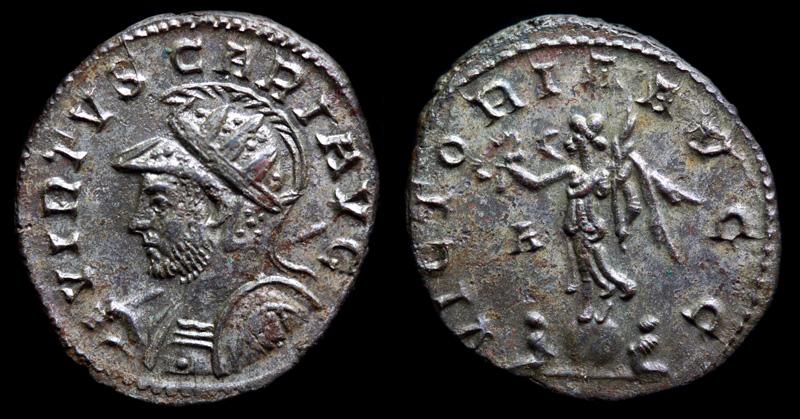 Image du triomphe au IIIe siècle, la Victoire sur un globe.  574657IMG2885
