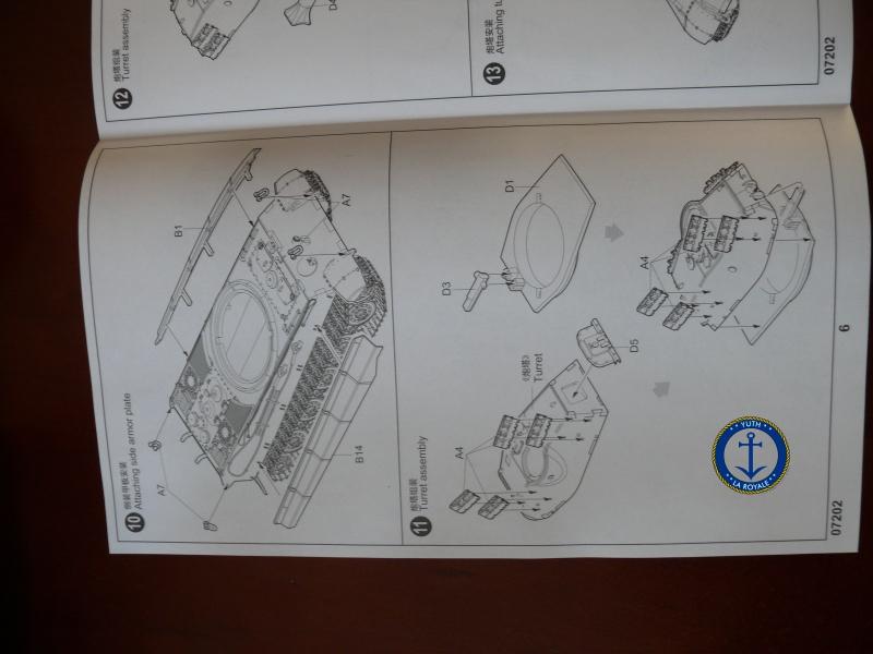 """Konigstiger """"porsche turret"""" 1/72 Trumpeter 575870P1080394"""