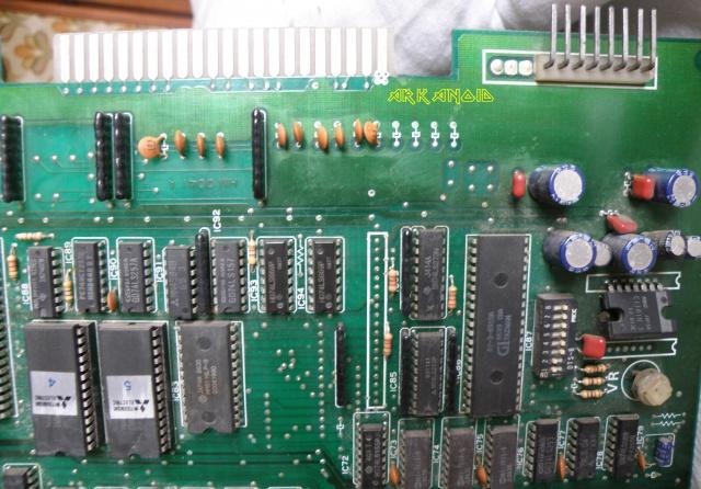 Recherche PINOUT PCB Arkanoid Bootleg 577881PC081756