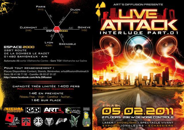 LE 05/02/2011 LIVE ATTACK interlude PART 1 578041FlyerRectoHDCMJNjpg
