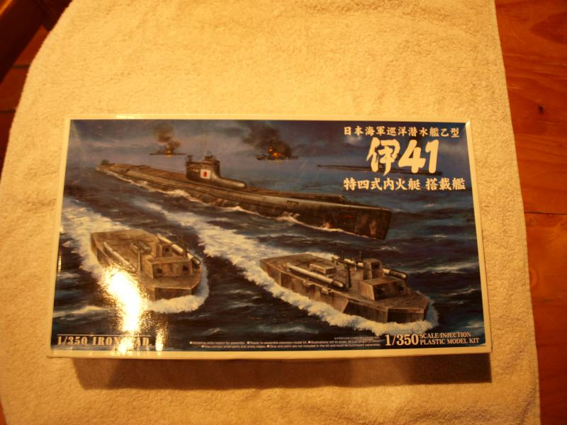 Sous marin I41 japonais  578966P9183307