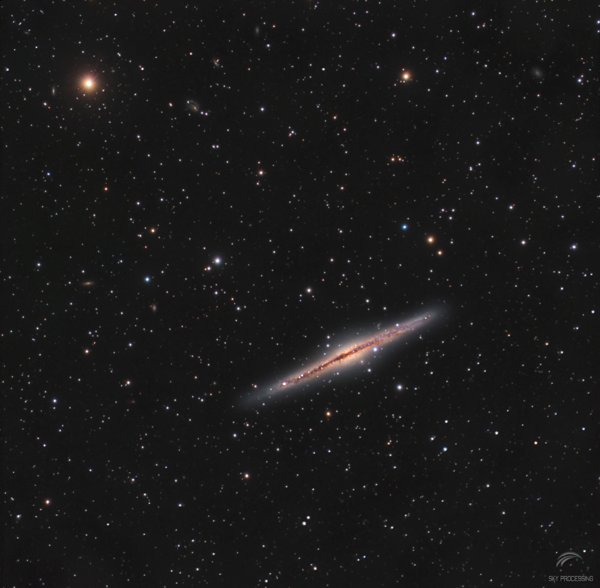 Galaxie Ngc891 au C8 Edge f/7 Atik4000 582781Ngc891saturweba