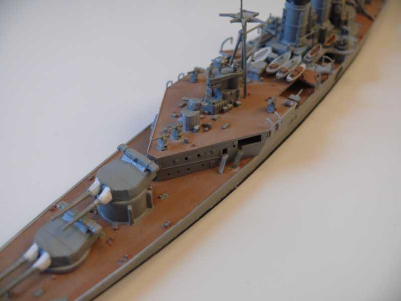 HMS Hood 1/700 Trumpeter 583423P1080026