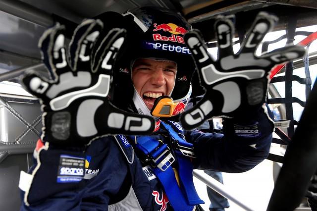 Troisième podium d'affilée pour Sébastien Loeb et la PEUGEOT 208 WRX, au Canada 5840035986071644deezoom