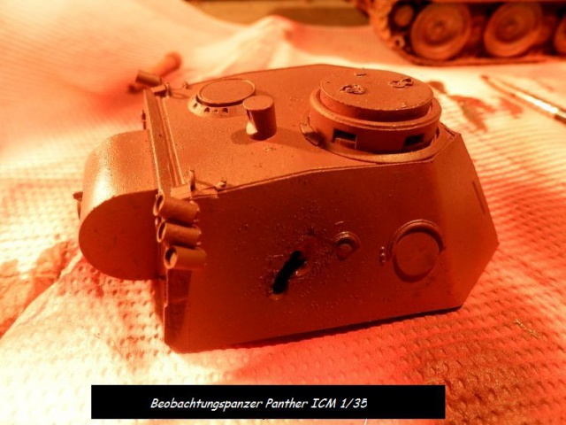 réhabilitation d un Béobachtungspanzer Panther ICM 1/35 589100P4240382
