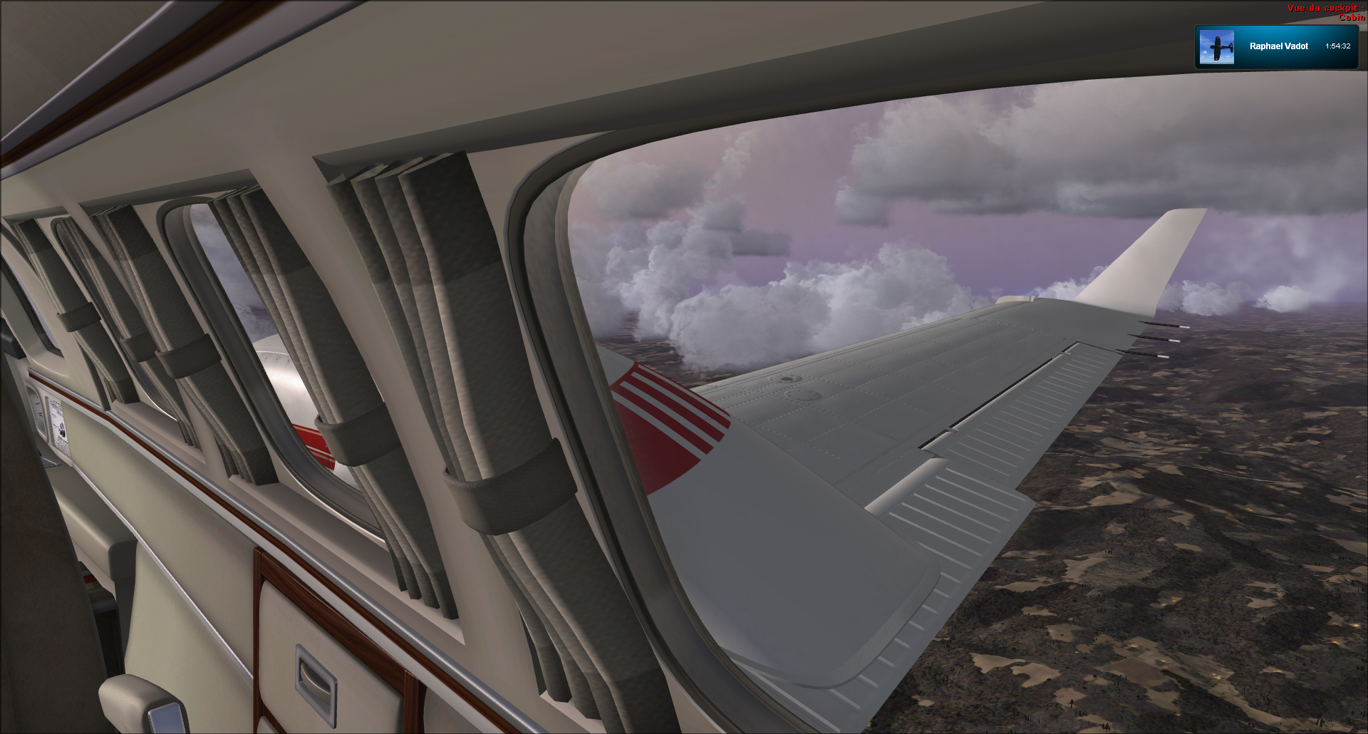 Vol VFR entre Bale et Clermont ferrand 58949020121125182154143