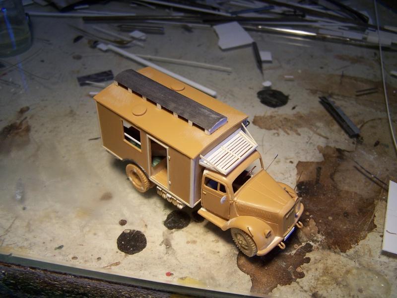 Opel Blitz Ambulance Normandie été 1944 5938351005868