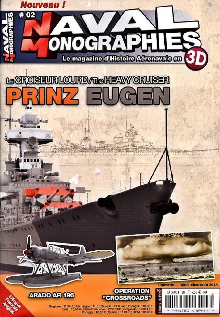 Prinz Eugen Trumpeter au 1x350 595915PrinzEugenTrumpeter1x3504