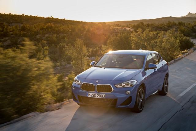 La nouvelle BMW X2 Silhouette élégante, dynamique exceptionnelle 600184P90278926highResthebrandnewbmwx2