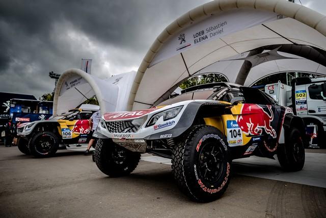 Peugeot dans les starting-blocks pour le Silk Way Rally ! 600281595f831404455