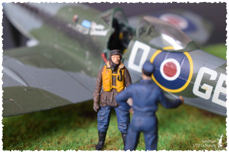 [Heller] Spitfire Mk. XVI 601053SpitfireMk1619