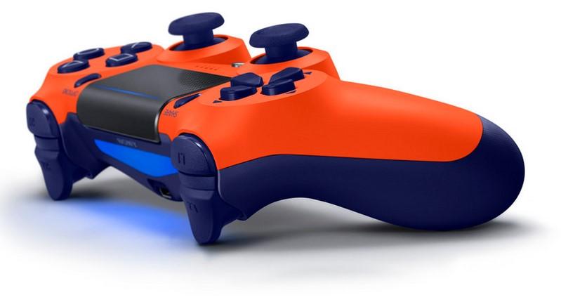 Dualshock 4 Orange et Bleue 601135manette04