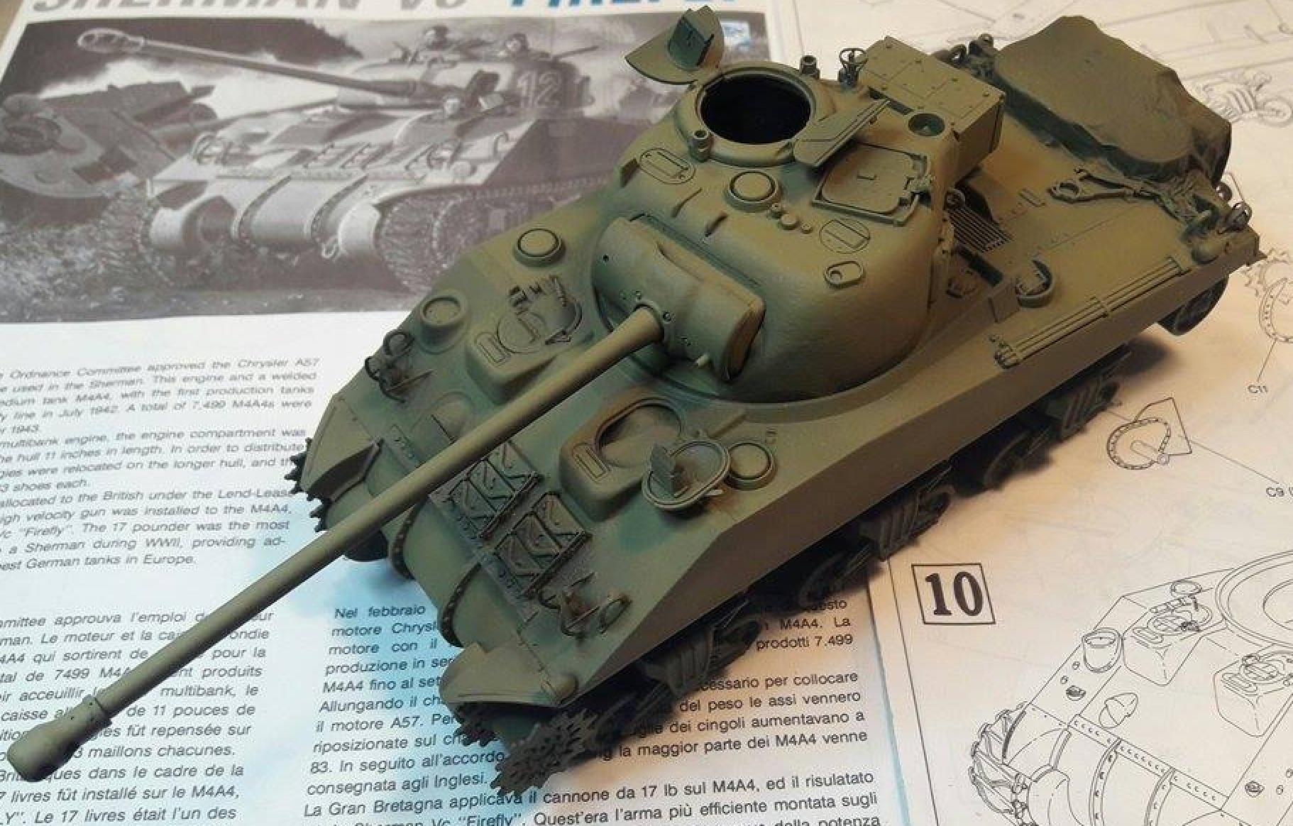 Sherman Vc Firefly - 1/35ème - kit Dragon #6031 Sherman Vc 'Firefly' - Page 2 601399CouchesBase