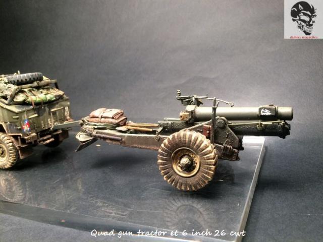 Quad gun tractor et 6 inch 26 CWT en Normandie 1/35 605756IMG4841
