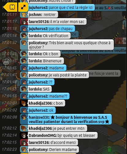 [P.N] Rapports d'actions RP de Policetony 605779RP2
