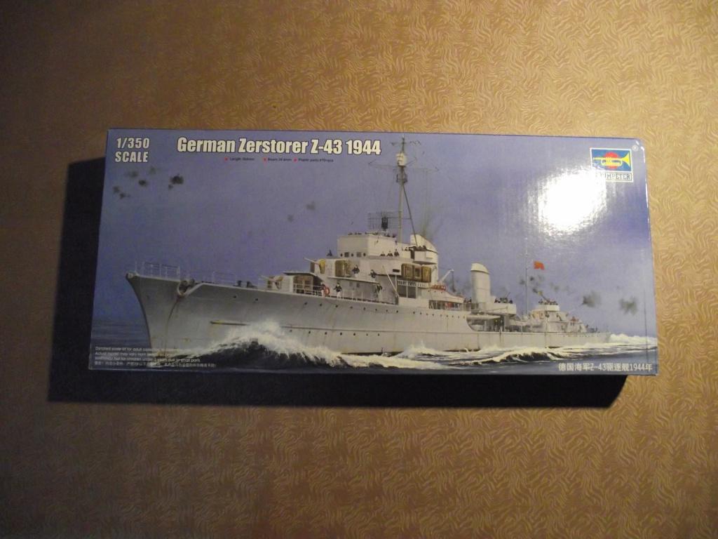 Destroyer Z43 Trumpeter au 1x350 607878DestroyerTrumpeter1x3501