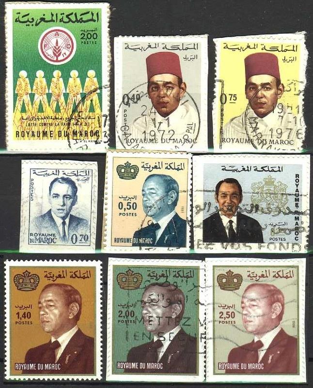 طوابع بريدية مغربية 608127timbre