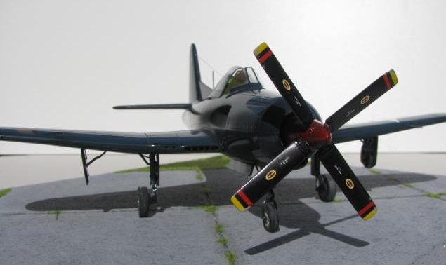 Montage terminé: Ryan XF2R-1 Czech Model 1/48 609150IMG1403