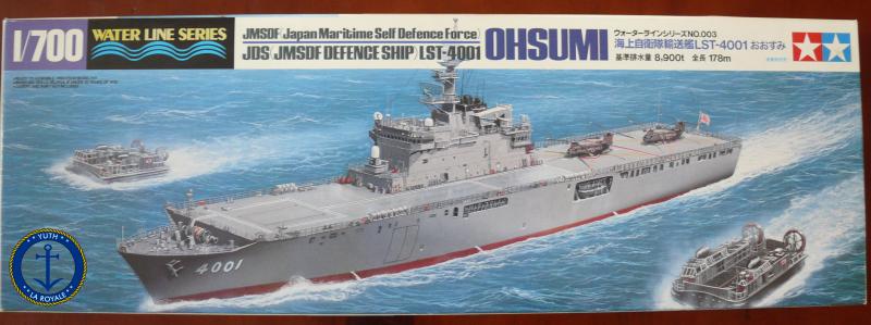 JMSDF LST Osumi 1/700 (Tamyia) 609501P1080407