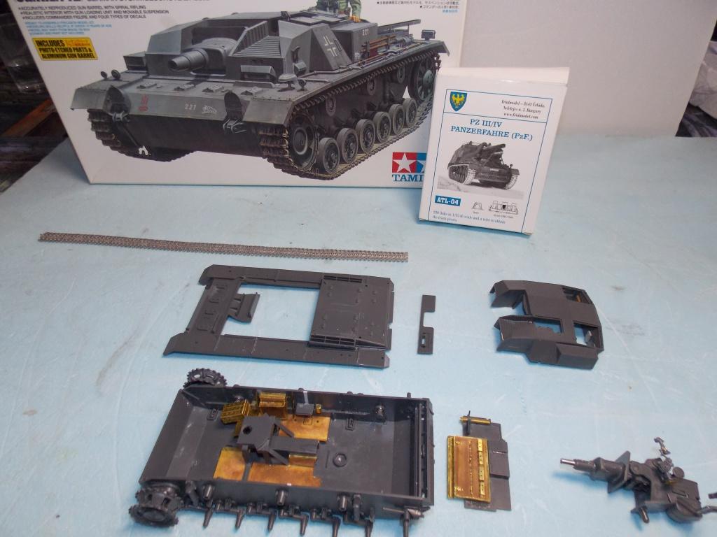 Quelque part front est été 41  Stug III ausf B (tamiya ) et SdKfz  252 (dragon ) 1/35 609736DSCN5382