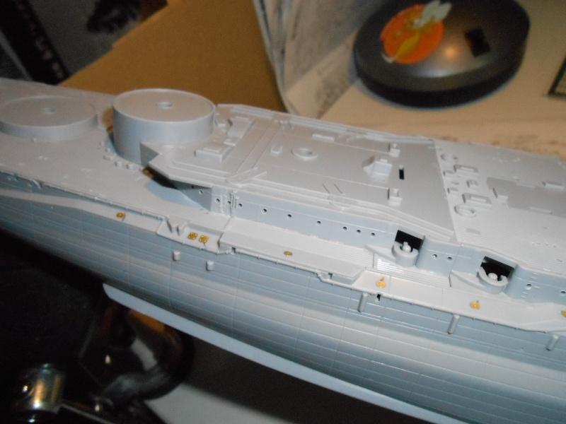 NAGATO Hasegawa 1/350- PE- Ponts en bois 610302DSCN6455
