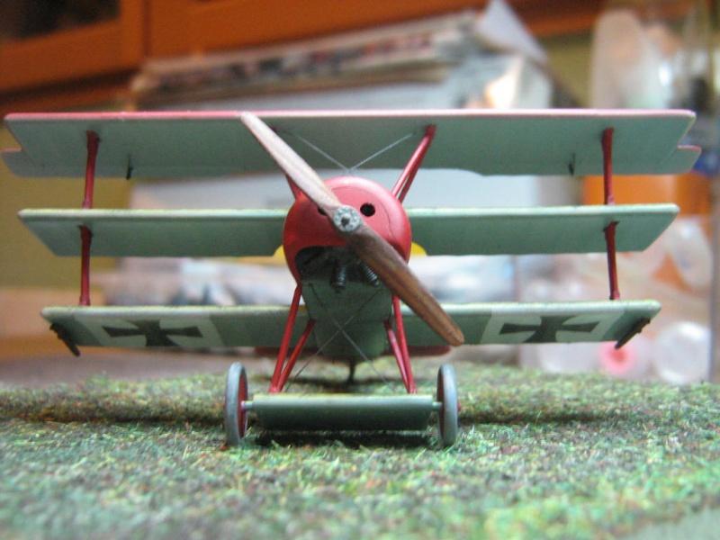 [Eduard] Fokker Dr I 152/17 Rittm Manfred von Richthofen Mars 1918 610962IMG0287