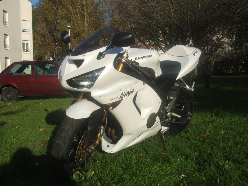 Mon zx6r blanc/blanc nacré 61099DSCF3849