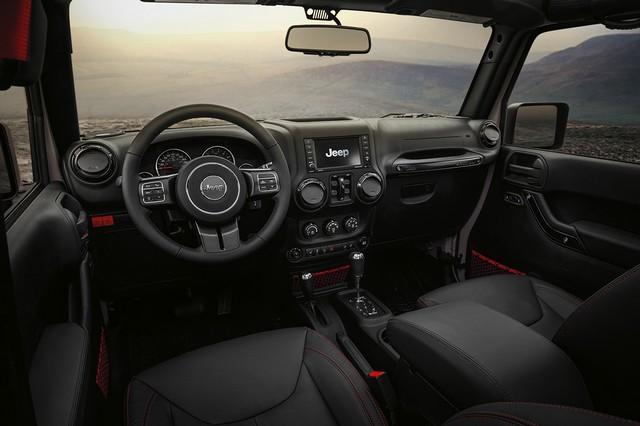 Jeep® au Salon de Genève 2017 612319170301JeepJeepWranglerRubiconReconinterior
