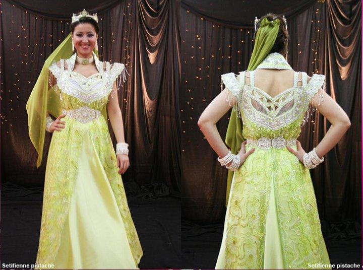 فساتين تقليدية للعروس الجزائرية-----سطايفي 614169ST5