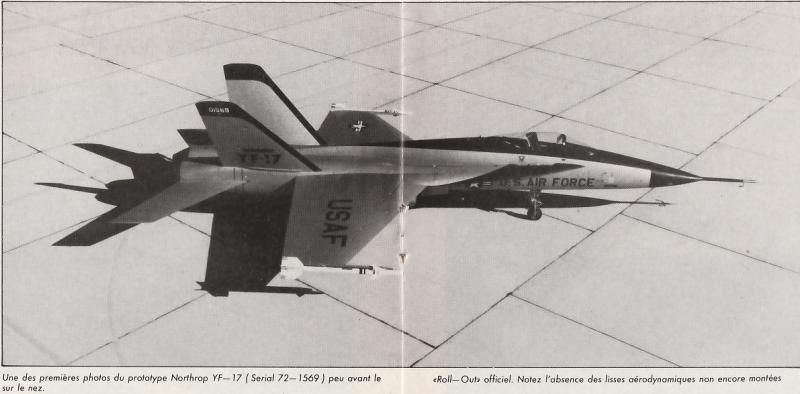 MCDONNELL-DOUGLAS F/A-18 HORNET  614922Northrop_YF_17_8