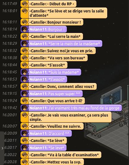 [C.H.U] Rapports d'actions RP de -Camxlle- 614930RPAVECNOAL