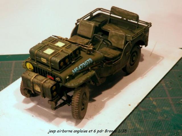 jeep indochine - 6 pdr ,jeep ,équipage airborne Bronco 1/35 (sur la route de Ouistreham) 615528P5060110
