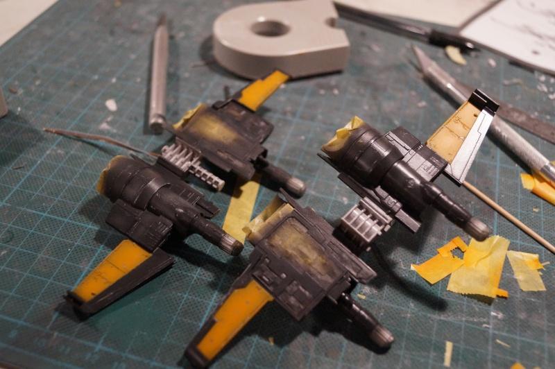 "X-Wing ""Resistance"" T-70 Bandaï 1/72 616004DSC01424"