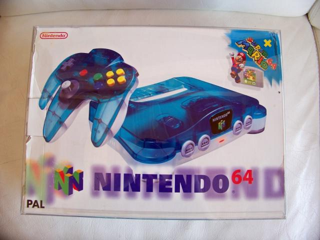 commande groupée : cristal box  CONSOLES NES SNES N64 (pack standards) 6160991101584