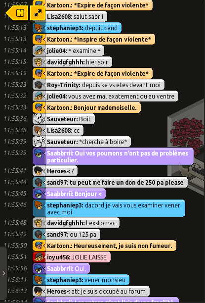 [Saabbrrii] Rapports d'actions RP - Infirmier 617105rp6