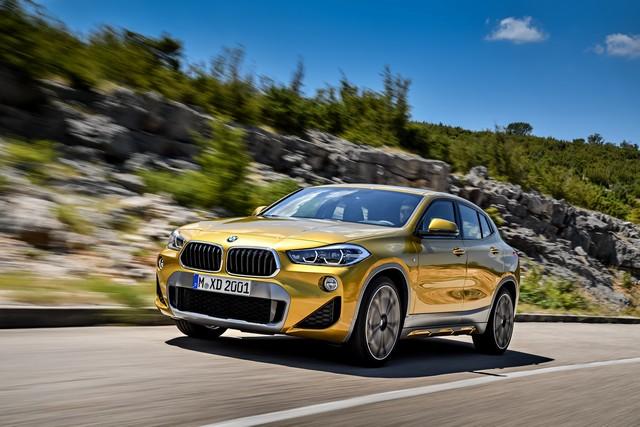 La nouvelle BMW X2 Silhouette élégante, dynamique exceptionnelle 617631P90278977highResthebrandnewbmwx2
