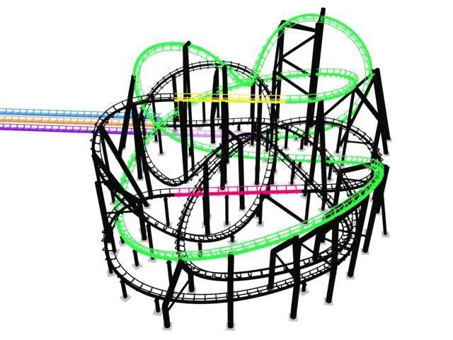 Rock 'n' Roller Coaster ( Infos, Technique, Chiffres , exlcu ) 618756zone5113